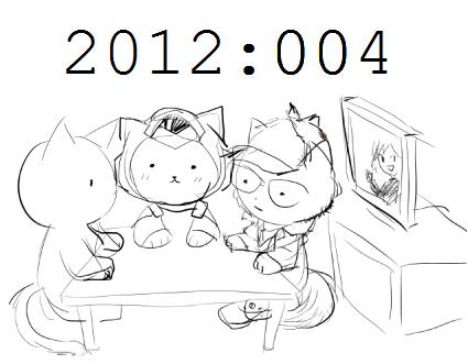AFX Podcast Moustache Catstache - 2012 Episode 004 - TAKATAKATAKATAKATAKA