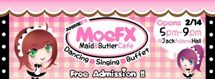 MoeFX Maid&Butler Cafe Spring 2014